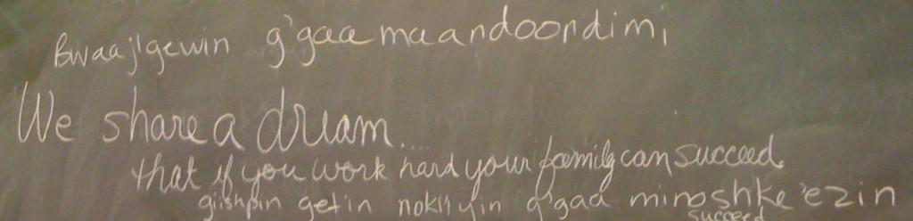 Ojibwe Lessons Image