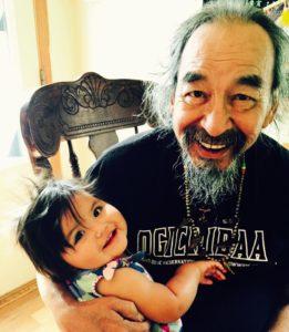 Jim with Grandbaby